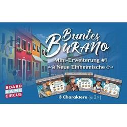 Buntes Burano Neue Einheimische Mini Erweiterung