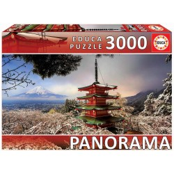 Puzzle Mount Fuji and Chureito Pagoda 3000T