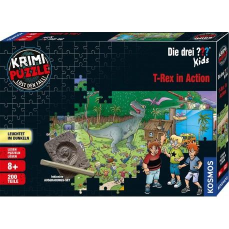 Krimipuzzle Drei ??? Kids T-Rex 200T