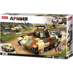 SLUB WWII Mittlerer deutscher Panzer II M38-B0859