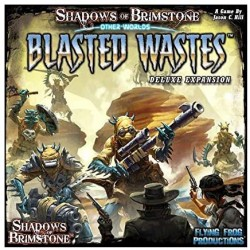 Shadows of Brimstone Blasted Wastes Deluxe