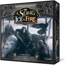 A Game Of THrones SoIF Nights Watch Starter Set ENG
