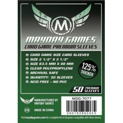 Sleeves Mayday Games Premium 7077 63,5 x 88