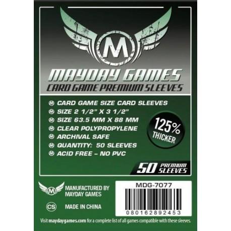 Sleeves MDG Premium 7077 63,5x88 (50) 125%
