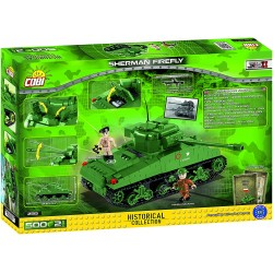 COB 500 PCS SMALL ARMY /2515/ SHERMANN FIREFLY