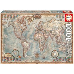 Puzzle Historische Weltkarte 4000T 9214827