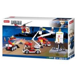 SLUB Feuerwehrfahrzeuge Set 490T M38-B0811