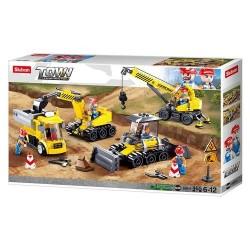 SLUB Baustellenfahrzeuge Set 465T M38-B0810