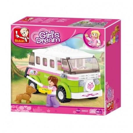 SLUB M38-B0523 - Girls Dream Campingbus 158T