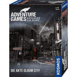 Adventure Games ? Die Akte Gloom City