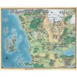 D&D Faerûn - Realm and Sword Coast Map