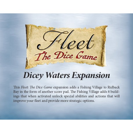 Fleet Dice Game Dicey Waters Exp DE