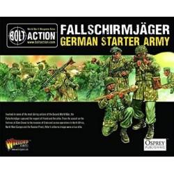 Bolt Action German Fallshirmjager Army Box