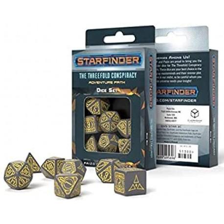 Starfinder Threefold Conspiracy Dice Set (7)