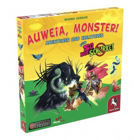 So nicht Schurke! Auweia Monster! Erweiterung
