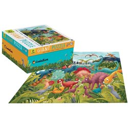 Giant Puzzle Die Dinosaurier 48T