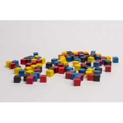 Spielmaterial Holzwürfel Ressourcewürfel 9mm