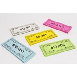 Spielgeld Dollar Noten