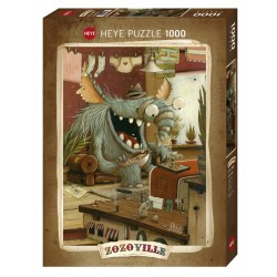 Puzzle Laundry Day 1000T Heye