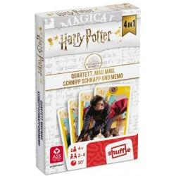 Harry Potter 4in1 Quartett, Mau Mau Memo, Schnipp Schnapp