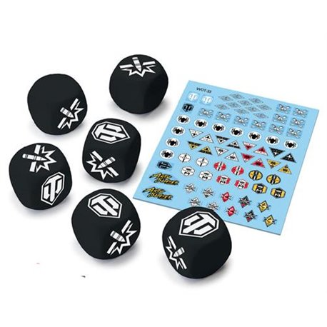 World of Tanks Tank Ace Dice & Decals