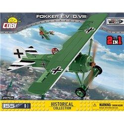 COB 155 PCS HC GREAT WAR /2976A/ FOKKER E.V(D.VIII)