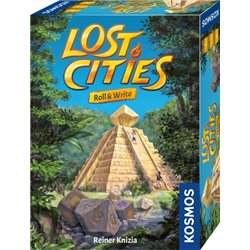 Lost Cities – Roll & Write
