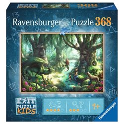 EXIT Puzzle Kids: Magischer Wald (368 Teile)