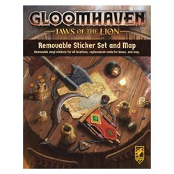 Gloomhaven Removable Sticker Set: Jaws of the Lion