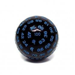 Würfel D100 Black/Blue