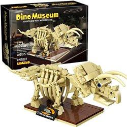 LIN Dino Museum Triceratops LN7001