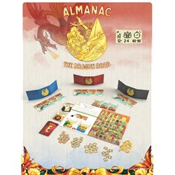 Almanac Dragon Roads Kickstarter Version