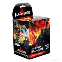 D&D Icons of the Realms Fangs and Talons Booster (Set 15)