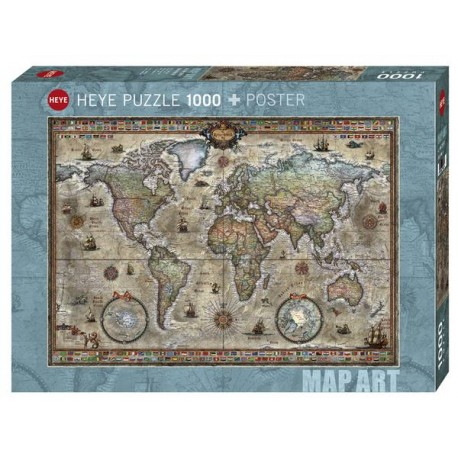 Puzzle Retro World 1000T