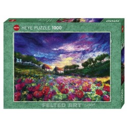 Puzzle Sundown Poppies 1000T