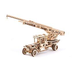 Ugears Holzpuzzle Feuerleiter Truck