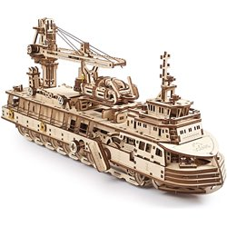 Ugears Holzpuzzle Research Vessel