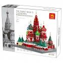WANGE Basilius Kathedrale in Moskau WG-6213