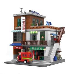XING Chinesisches Urbanes Wohnhaus XB-01013