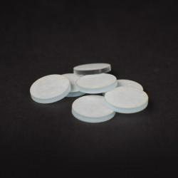 Clear Acrylic Miniature Bases (3mm) - Ø25