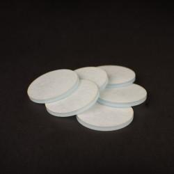 Clear Acrylic Miniature Bases (3mm) - Ø30