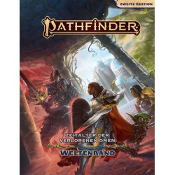Pathfinder 2. Edition Zeitalter der Verlorenen Omen Weltenband