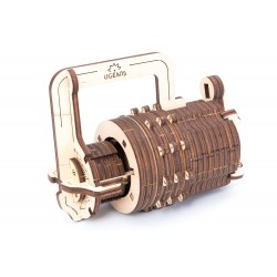 3D Holzpuzzle Ugears Combination Lock