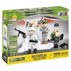 COB 30 PCS HC WWII /2039/ GERMAN ELITE TROOPS 3 FIGUREN