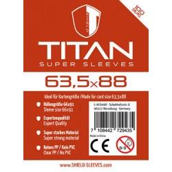 Titan Super Sleeves 63,5x88
