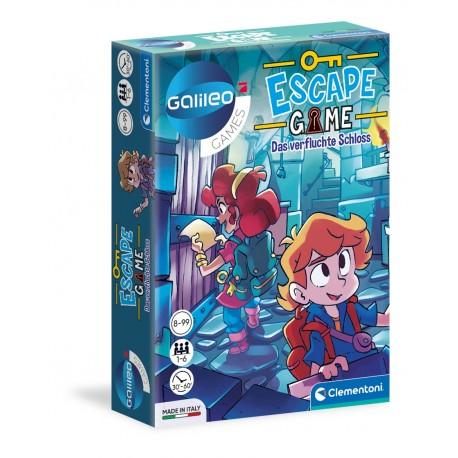 Escape Game Das verfluchte Schloss Gallileo