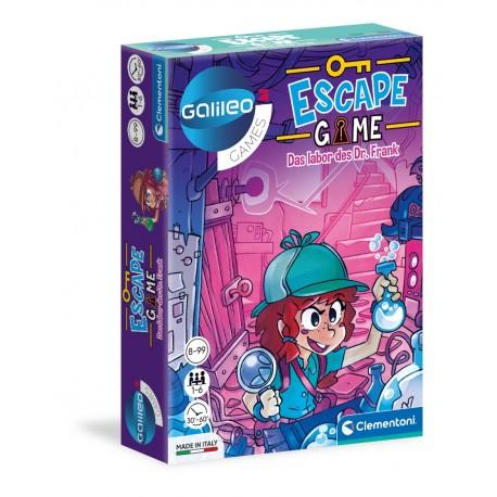Escape Game Das Labor des Dr. Frank Gallileo