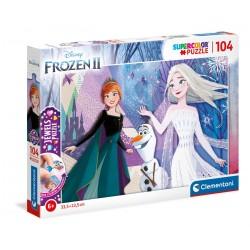 Jewels Puzzle Frozen 2 104T