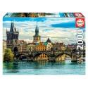 Puzzle Educa Sicht auf Prag 2000T