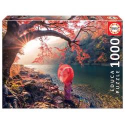 Puzzle Sonnenaufgang in Katsura 1000T